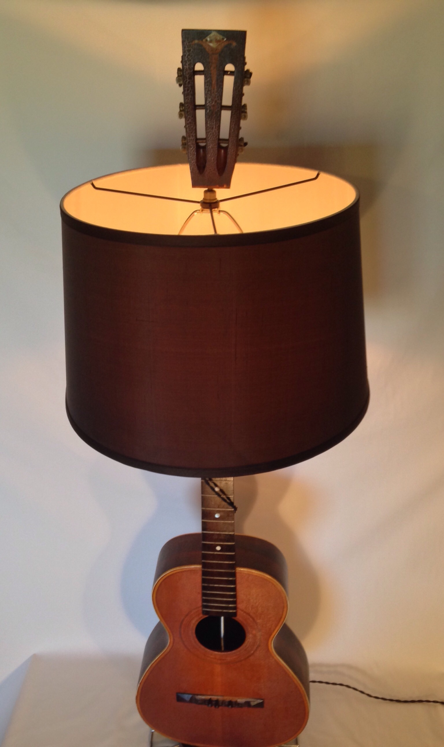 Quot Acoustic Session Quot Guitar Lamp Carvel Vintage