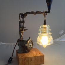"""""""Daily Grind"""" Lamp"""