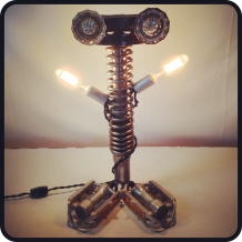 """Hands in the Air"" Robot Lamp"